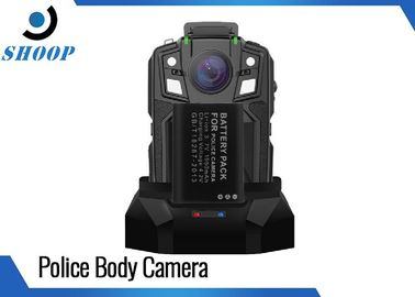 16GB Security Portable Body Camera , 1950mAh Battery Police Body Worn Video Camera